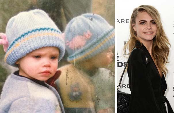 Διάσημοι σε παιδική ηλικία και τώρα (11)