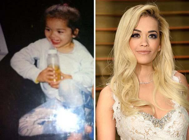 Διάσημοι σε παιδική ηλικία και τώρα (12)