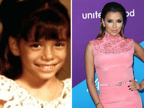 Διάσημοι σε παιδική ηλικία και τώρα (13)
