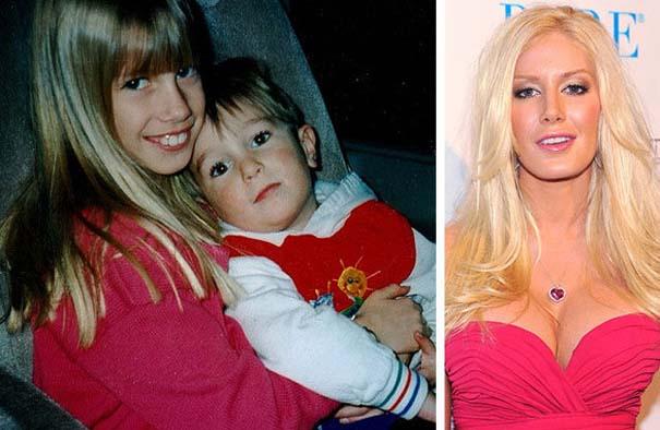 Διάσημοι σε παιδική ηλικία και τώρα (14)