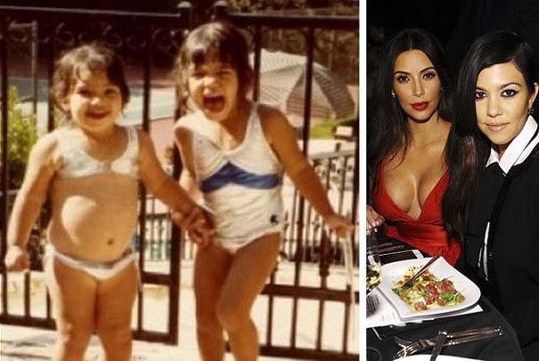 Διάσημοι σε παιδική ηλικία και τώρα (15)