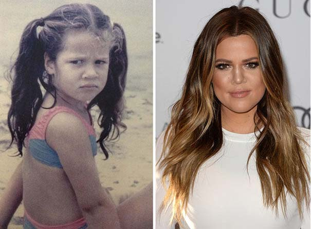 Διάσημοι σε παιδική ηλικία και τώρα (17)
