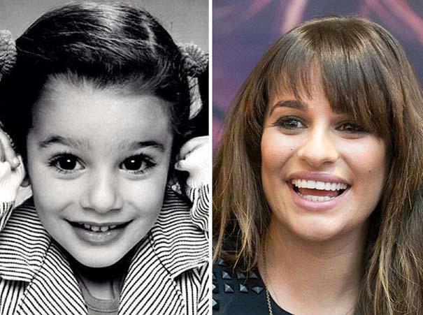 Διάσημοι σε παιδική ηλικία και τώρα (18)