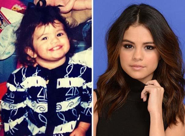 Διάσημοι σε παιδική ηλικία και τώρα (21)