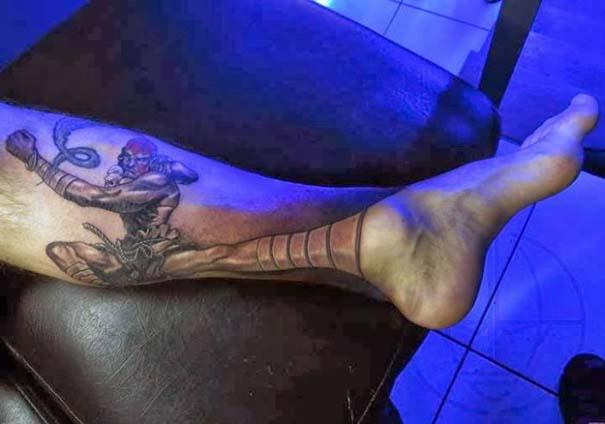 Εντυπωσιακό τατουάζ οφθαλμαπάτη εμπνευσμένο από το Street Fighter (3)