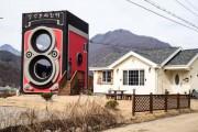 Καφέ σε σχήμα vintage φωτογραφικής μηχανής (1)