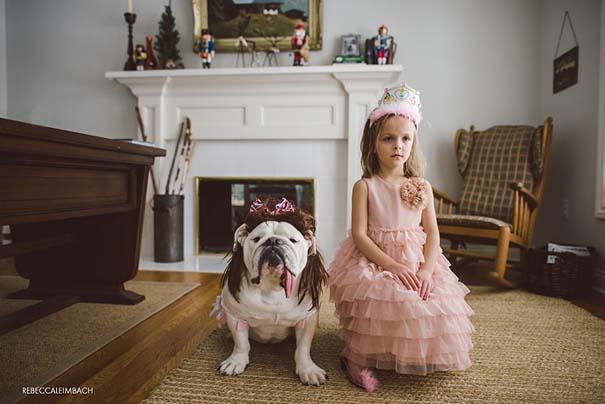 Κοριτσάκι με αγγλικό bulldog (25)