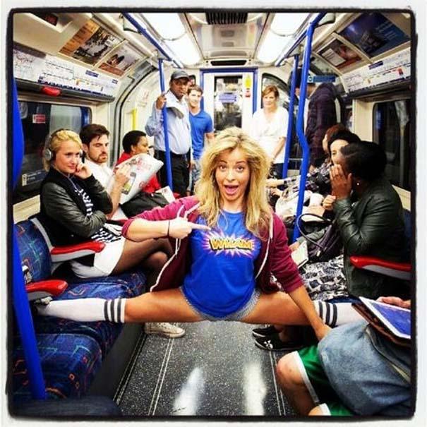 Παράξενες και κωμικοτραγικές φωτογραφίες στα μέσα μεταφοράς (12)