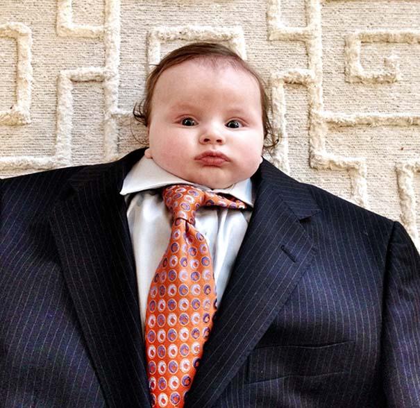 Μωρά με κουστούμι (3)