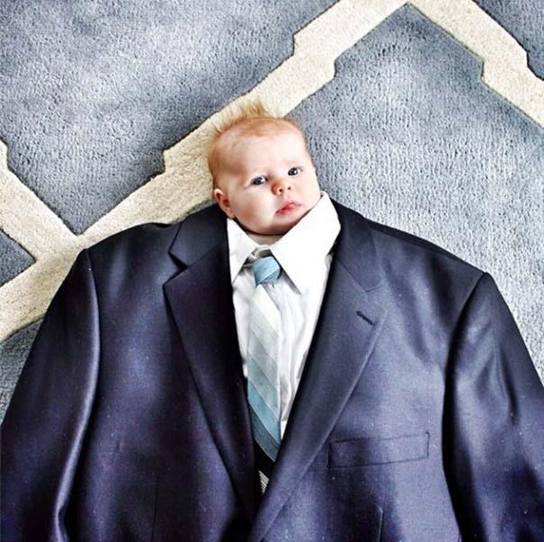 Μωρά με κουστούμι (4)
