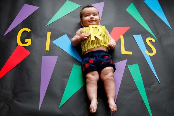 Μωρό μεταμφιέζεται σε διάσημους χαρακτήρες τηλεοπτικών σειρών (2)