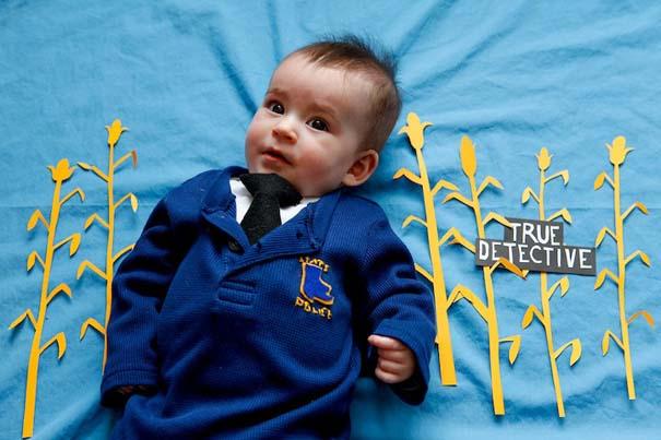 Μωρό μεταμφιέζεται σε διάσημους χαρακτήρες τηλεοπτικών σειρών (3)