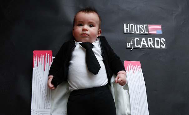 Μωρό μεταμφιέζεται σε διάσημους χαρακτήρες τηλεοπτικών σειρών (6)