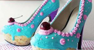Όταν η ζαχαροπλαστική συνάντησε τον σχεδιασμό παπουτσιών