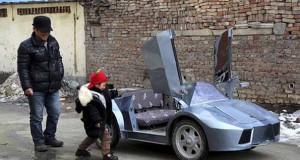 Παππούς από την Κίνα έφτιαξε Lamborghini για να πηγαίνει τον εγγονό του στο σχολείο