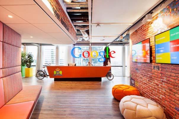 Περιήγηση στα ανανεωμένα γραφεία της Google στο Άμστερνταμ (2)