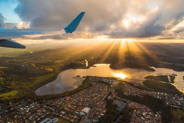Πετώντας πάνω από την Αυστραλία | Φωτογραφία της ημέρας