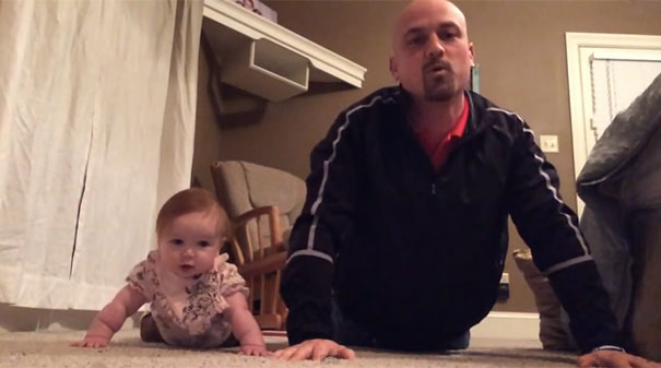 Πρόγραμμα γυμναστικής πατέρα και κόρης