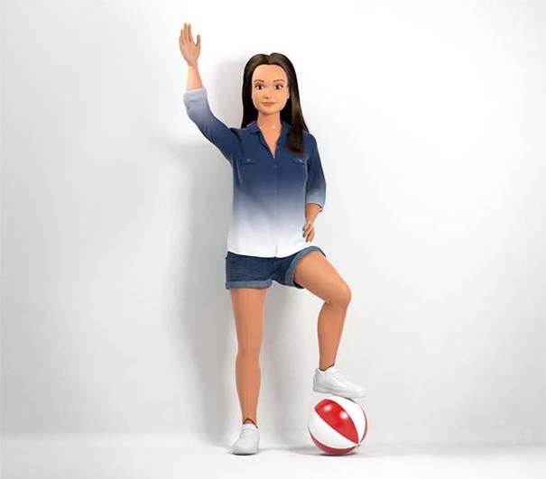 Μια ρεαλιστική Barbie βασισμένη στο μέσο 19χρονο κορίτσι (2)