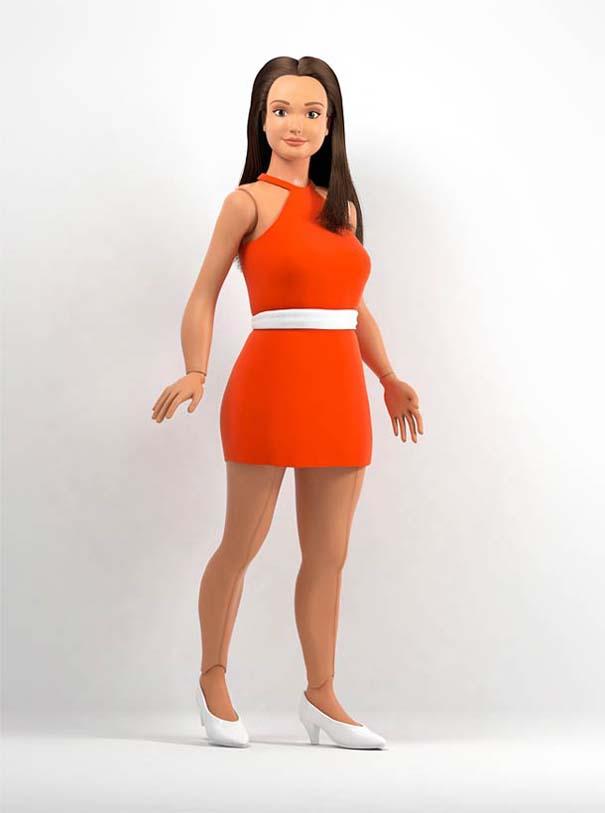 Μια ρεαλιστική Barbie βασισμένη στο μέσο 19χρονο κορίτσι (3)