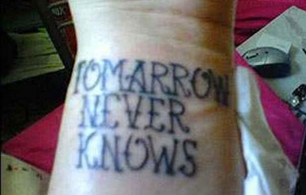 Τατουάζ με ορθογραφικά λάθη... μη σου τύχει! (17)