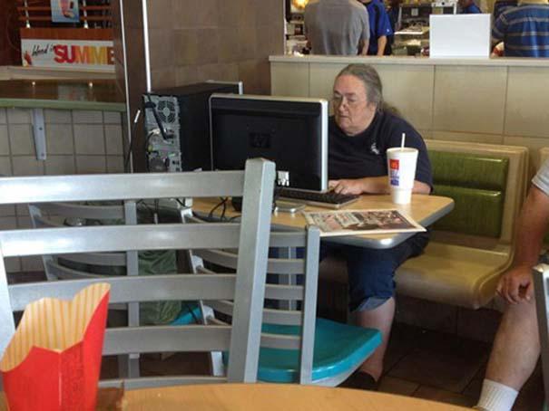 Θεότρελοι πελάτες σε Fast Food (5)