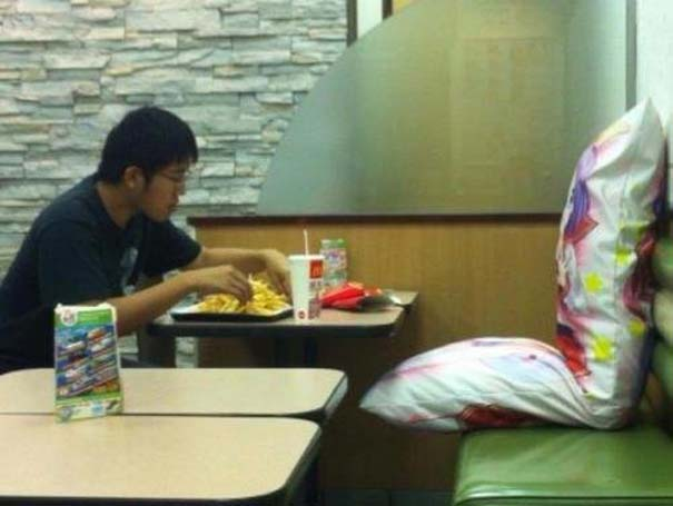 Θεότρελοι πελάτες σε Fast Food (18)