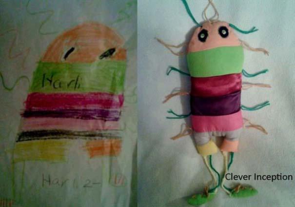 Αν οι παιδικές ζωγραφιές μετατρέπονταν σε παιχνίδια (1)