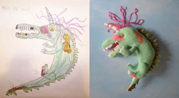 Αν οι παιδικές ζωγραφιές μετατρέπονταν σε παιχνίδια (8)