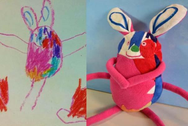Αν οι παιδικές ζωγραφιές μετατρέπονταν σε παιχνίδια (10)