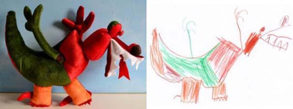 Αν οι παιδικές ζωγραφιές μετατρέπονταν σε παιχνίδια (13)