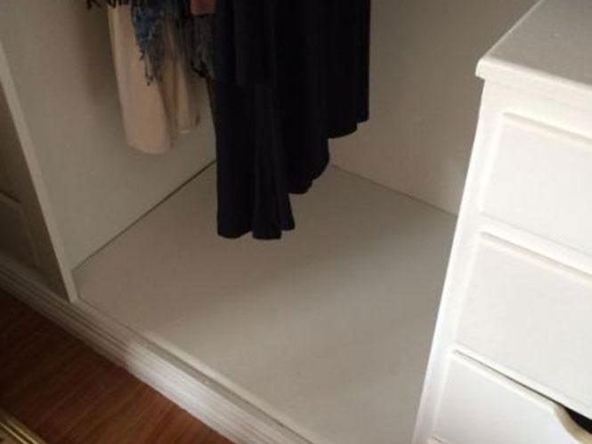 Ανακάλυψε κρυφό χρηματοκιβώτιο στην ντουλάπα (1)