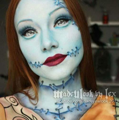 Οι απίστευτες μεταμορφώσεις με μακιγιάζ της Alexis Fleming (3)