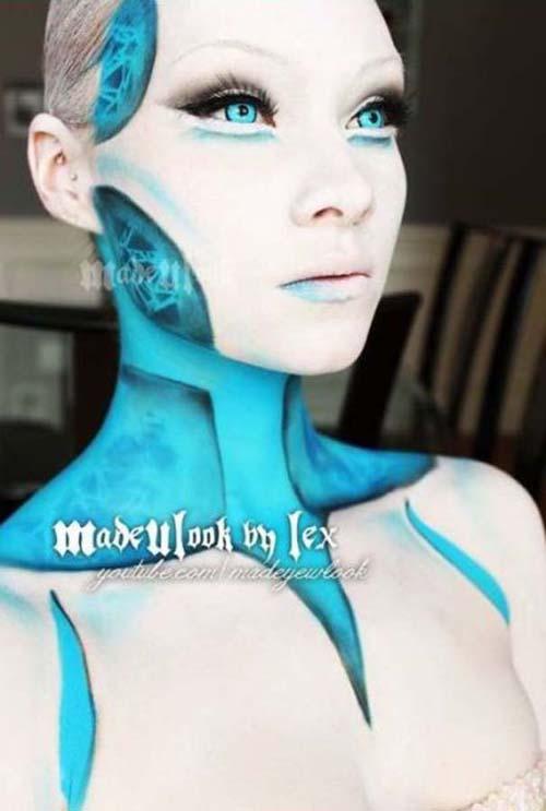 Οι απίστευτες μεταμορφώσεις με μακιγιάζ της Alexis Fleming (11)