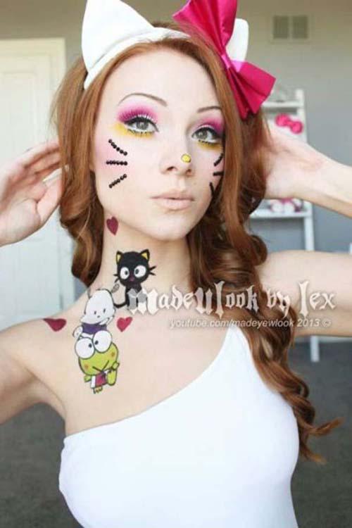 Οι απίστευτες μεταμορφώσεις με μακιγιάζ της Alexis Fleming (18)