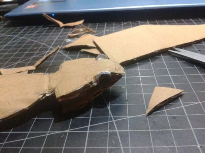Δεν θα πιστεύετε ότι αυτό που έφτιαξε είναι απλά μια δημιουργία από χαρτόνι (3)