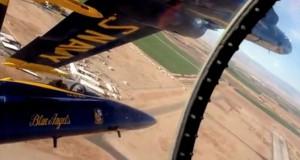 Πιλότος των Blue Angels μας δείχνει πως είναι όταν πετούν σε σχηματισμό με απόσταση αναπνοής