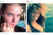 Διάσημες σε φωτογραφίες που ανέβασαν χωρίς μακιγιάζ (1)