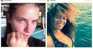 25 διάσημες σε φωτογραφίες που ανέβασαν χωρίς μακιγιάζ