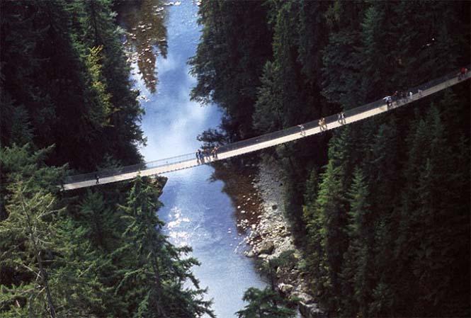 Γέφυρα Capilano στον Καναδά (2)