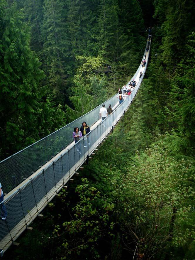Γέφυρα Capilano στον Καναδά (3)