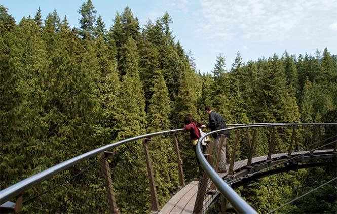 Γέφυρα Capilano στον Καναδά (5)