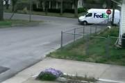 Γκάφα ενός courier με φορτηγάκι