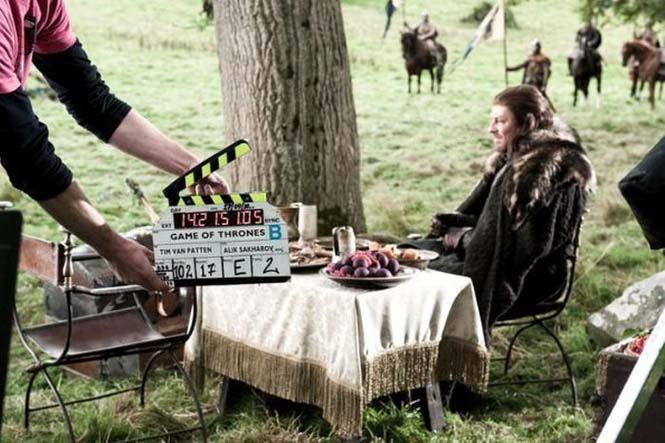 Στα γυρίσματα της σειράς «Game of Thrones» (1)