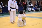 Κοριτσάκια στον πρώτο τους αγώνα Judo