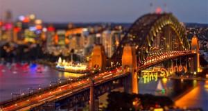 Ταξιδεύοντας σε ένα μικροσκοπικό Sydney (Video)