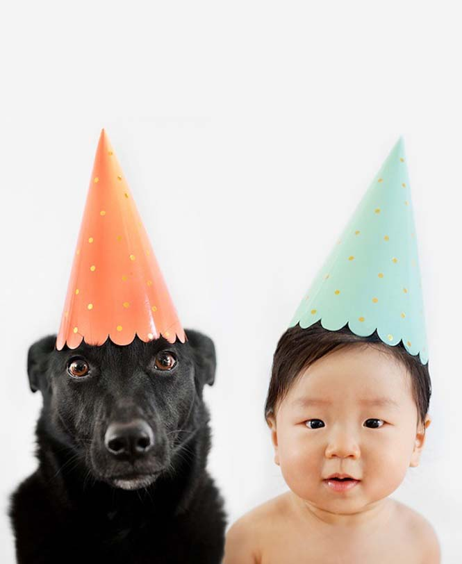 Μωρό ποζάρει με το σκύλο του σε απίθανες φωτογραφίες (6)