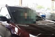 Οδηγός σώθηκε με απίστευτο τρόπο από ιπτάμενη σανίδα (1)