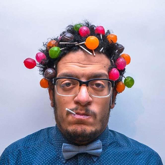 Όταν ένας φωτογράφος παίζει με τα μαλλιά του (4)