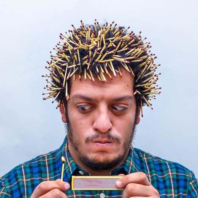 Όταν ένας φωτογράφος παίζει με τα μαλλιά του (6)